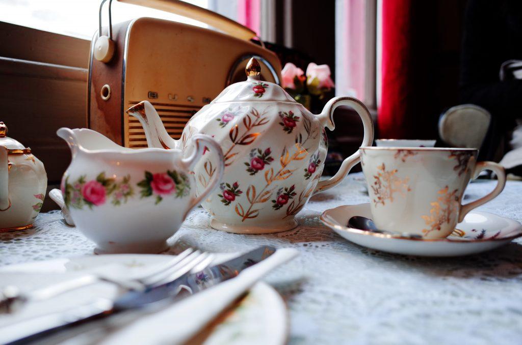 Foto di uno stupendo cream tea pomeridiano