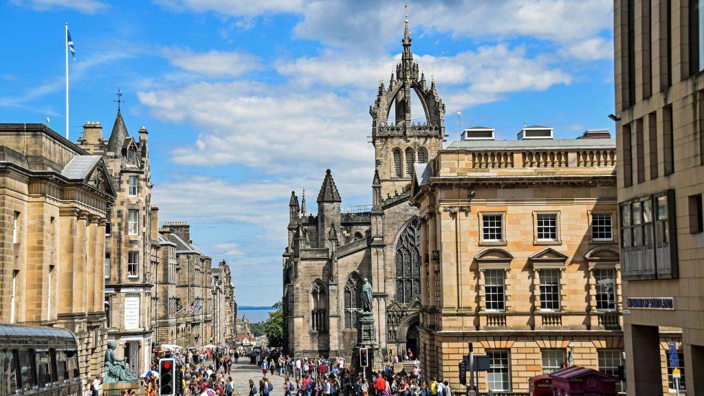 La Royal Mile e la Old Town di Edimburgo