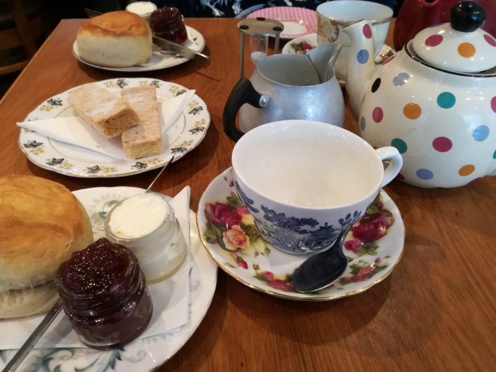Il mio tè pomeridiano da eteaket ad Edimburgo