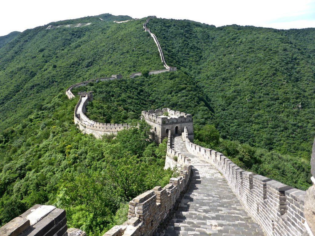 La Grande Muraglia Cinese in Cina.