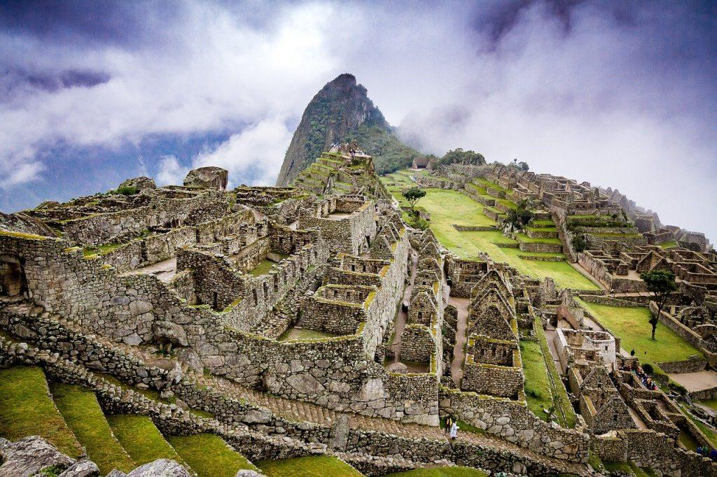 Machu Picchu in Perú