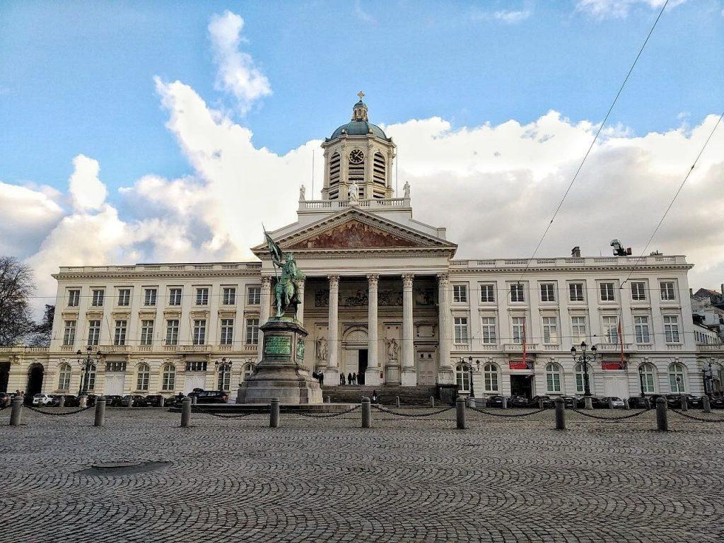 Il Museo delle Belle Arti a Bruxelles.