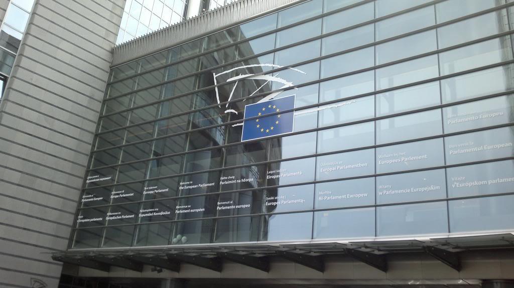 Palazzo del Parlamento a Bruxelles.
