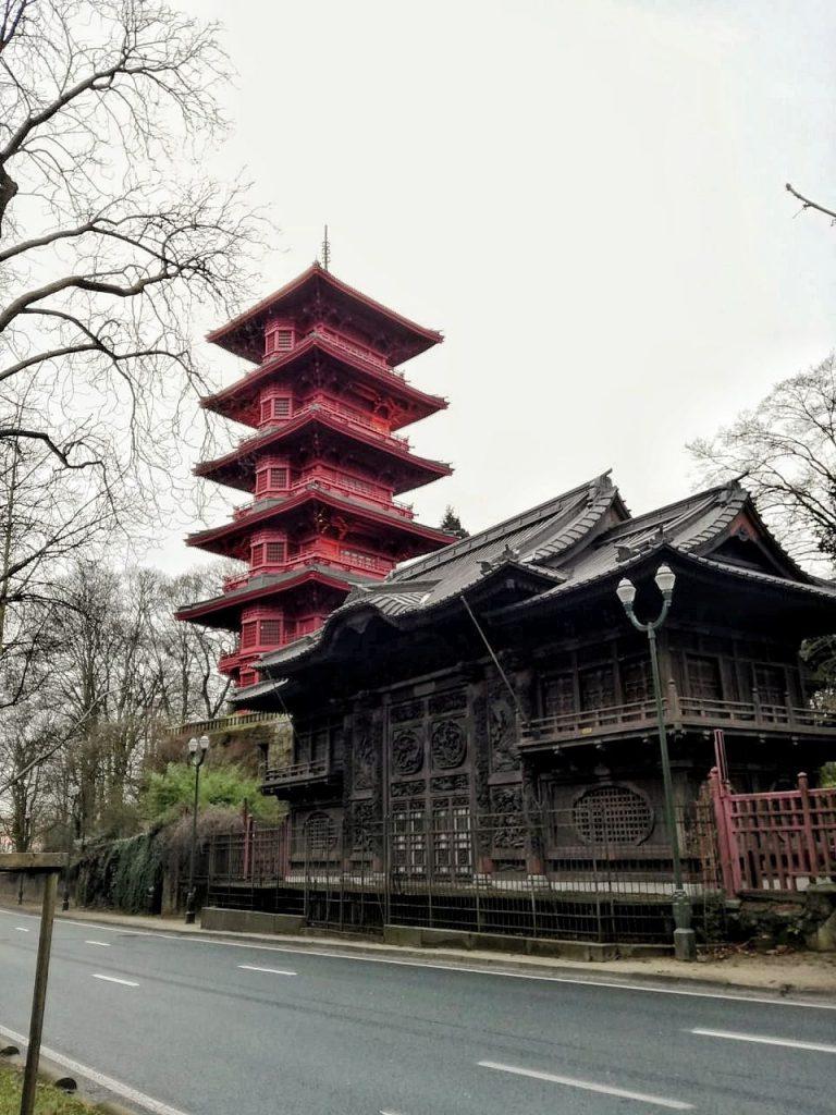 La torre giapponese a Bruxelles.