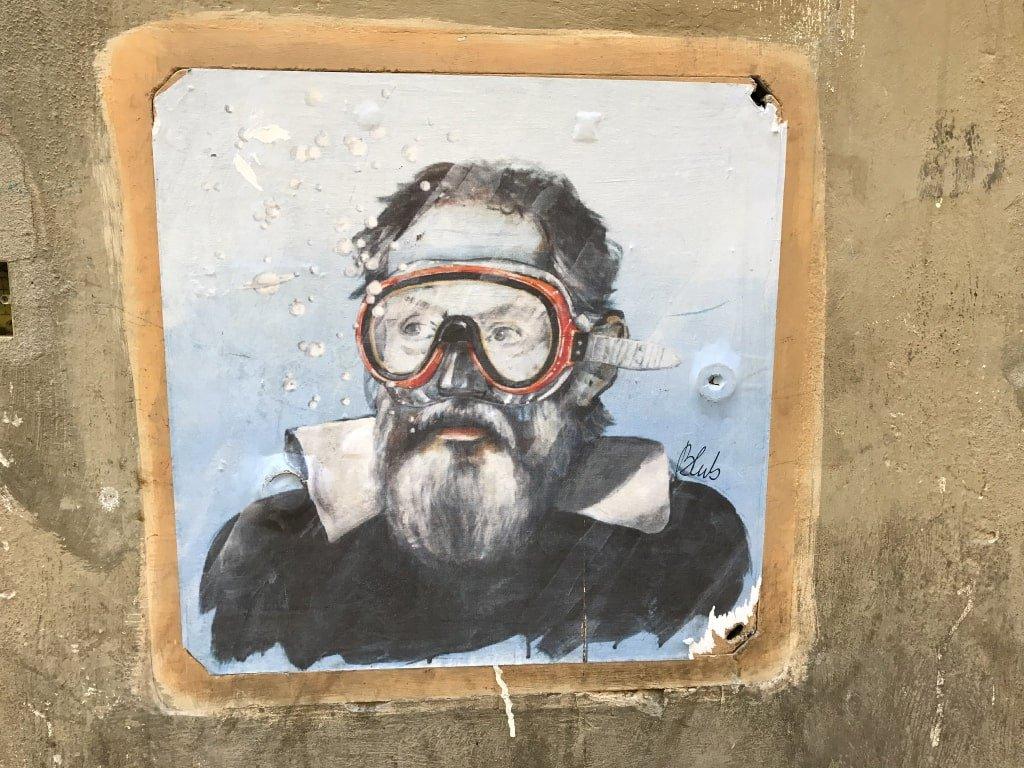 Murales di Blub a Venezia.