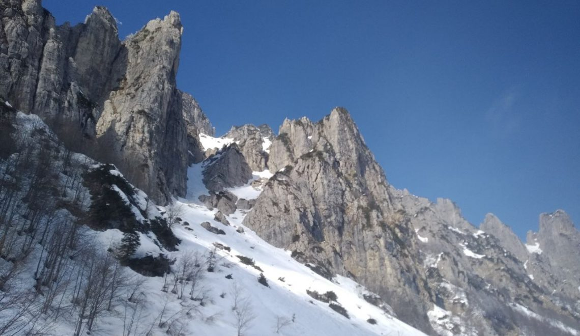 Le Piccole Dolomiti vicentine.
