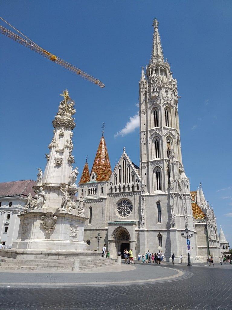 La chiesa di San Nicola nella citta di Buda
