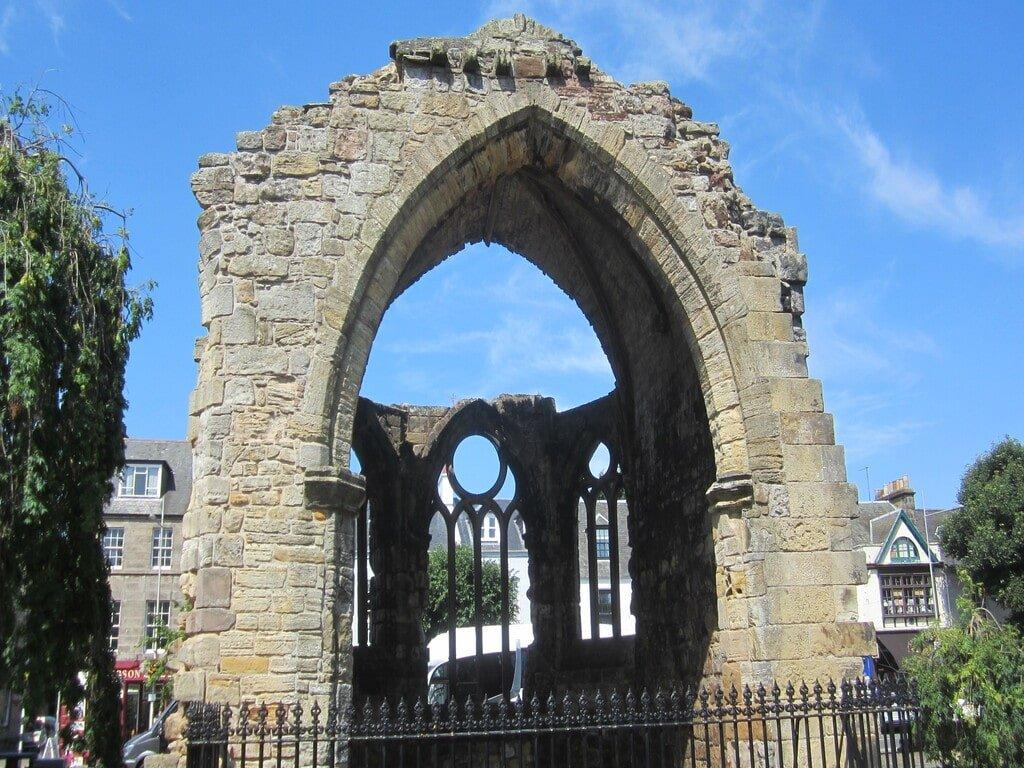 I resti della Cappella di Blackfriars a Saint Andrews