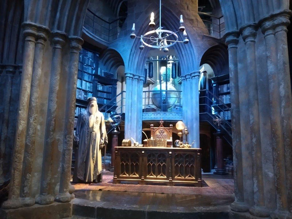 L'ufficio di Silente ai Warner Bros Studio Tour - The Making of Harry Potter a Londra