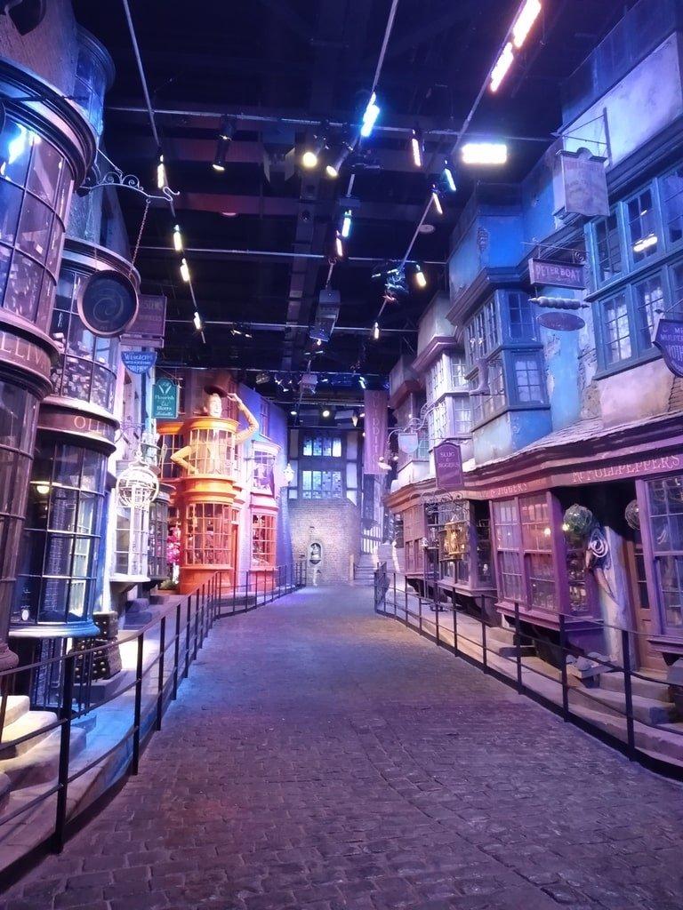 Il viale magico di Diagon Alley ai Warner Bros Studio Tour - The Making of Harry Potter a Londra