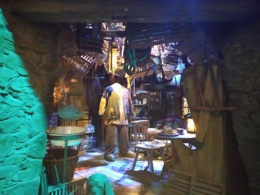 La capanna di Hagrid ai Warner Bros Studio Tour - The Making of Harry Potter a Londra