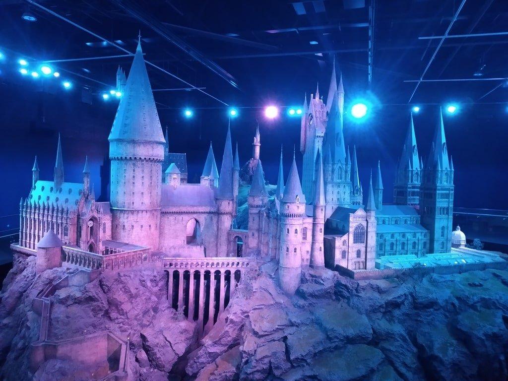 Il modello di Hogwarts ai Warner Bros Studio Tour - The Making of Harry Potter a Londra