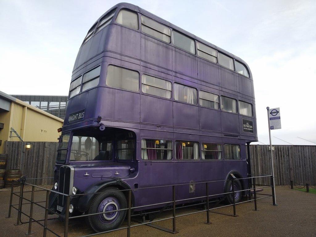 Il Nottetempo, l'autobus magico a tre piani ai Warner Bros Studio Tour - The Making of Harry Potter a Londra