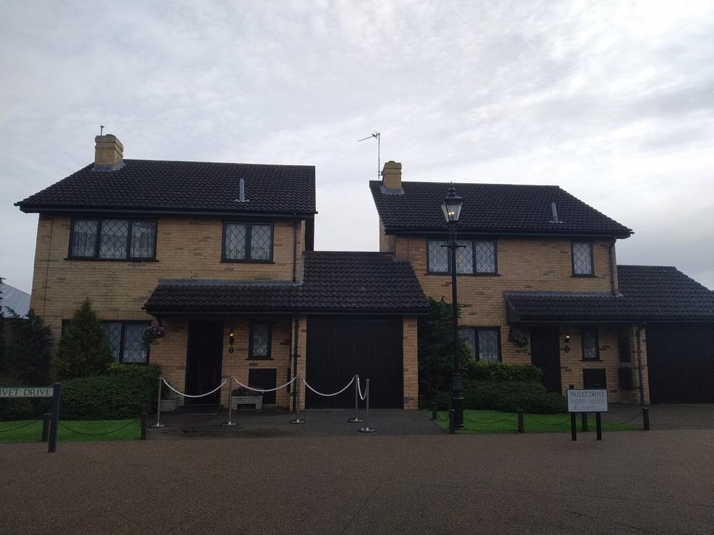 La casa del numero 4 di Privet Drive ai Warner Bros Studio Tour - The Making of Harry Potter a Londra