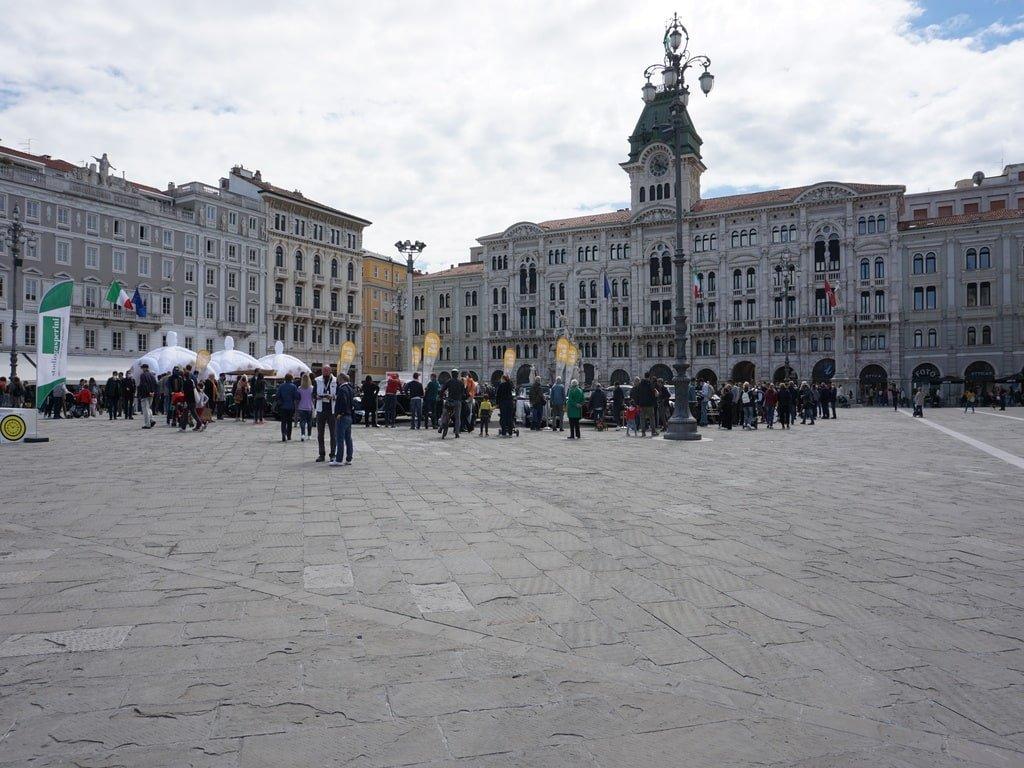 Piazza Unità d'Italia a Trieste.