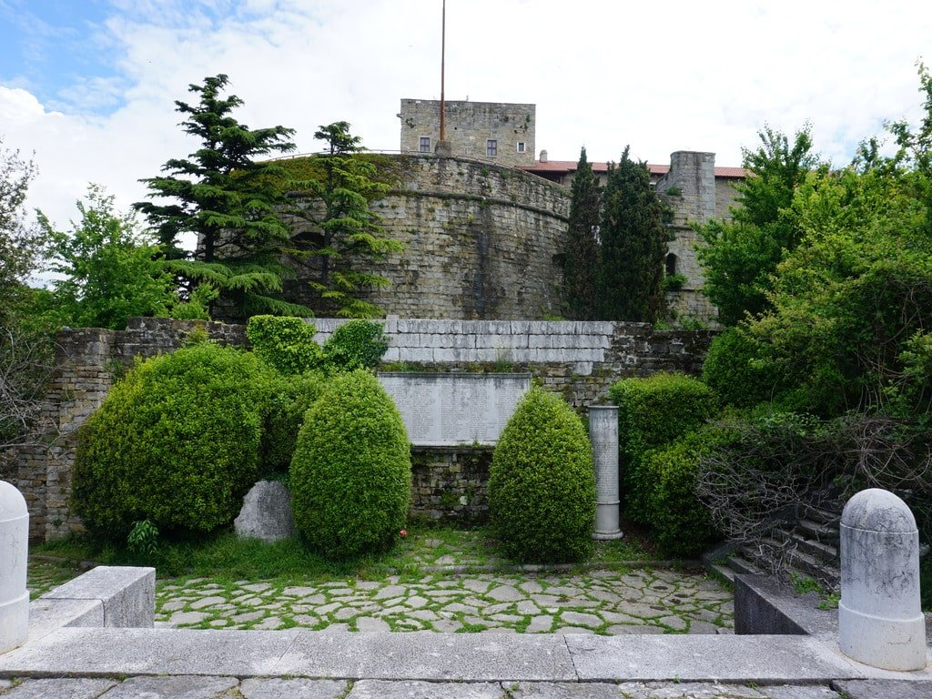 Il Castello di San Giusto a Trieste.