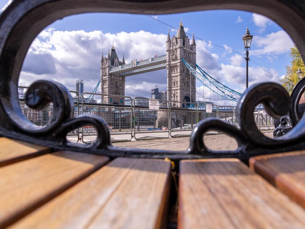 Il Tower Bridge a Londra.