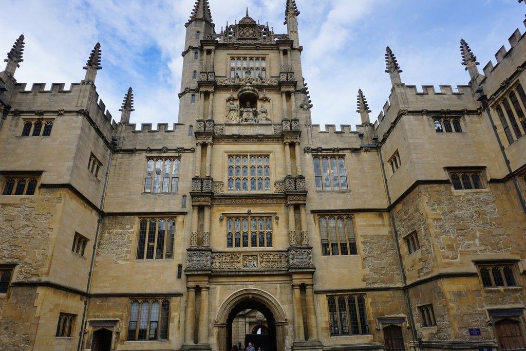 La Bodleain Library a Oxford.