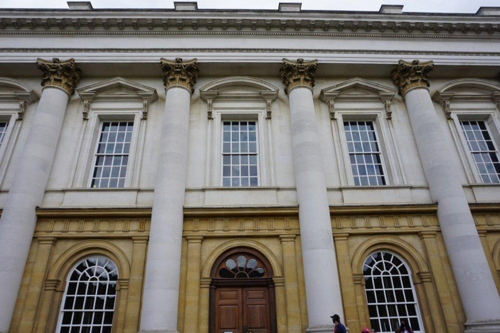 La biblioteca del Christ Church College.