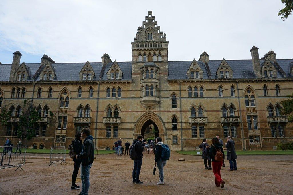 Il palazzo principale del Christ Church College a Oxford.