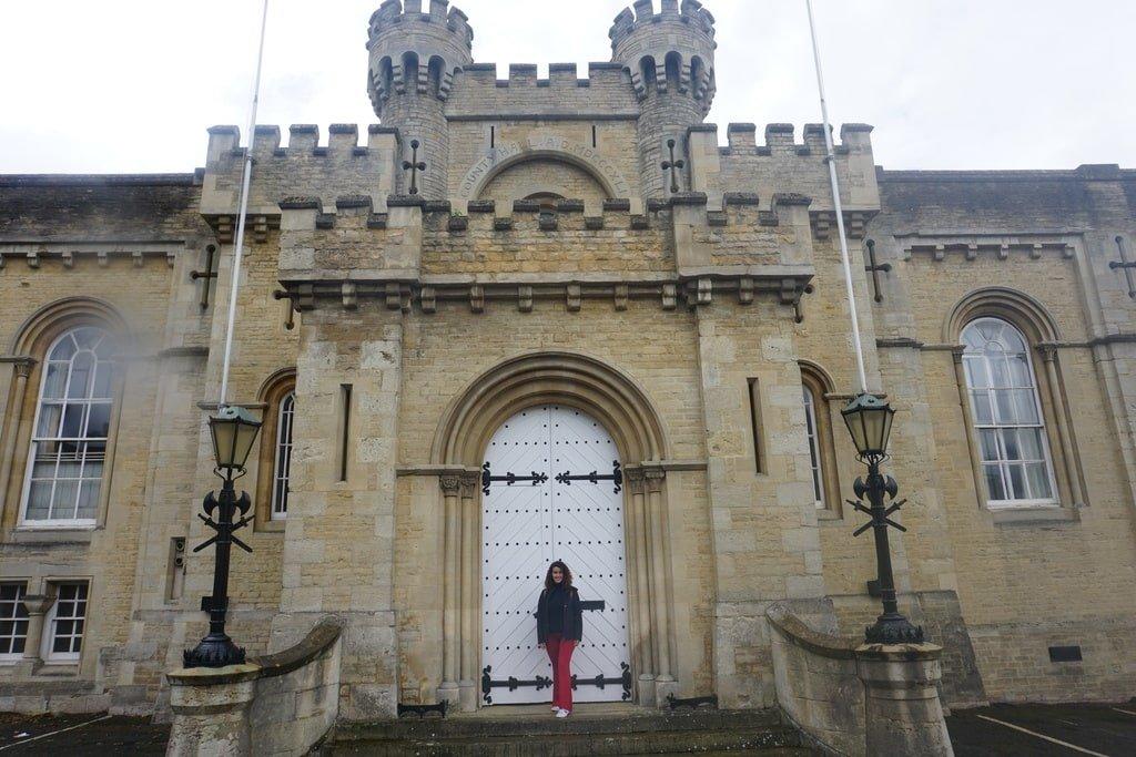 Uno dei portoni di accesso al Castello di Oxford.