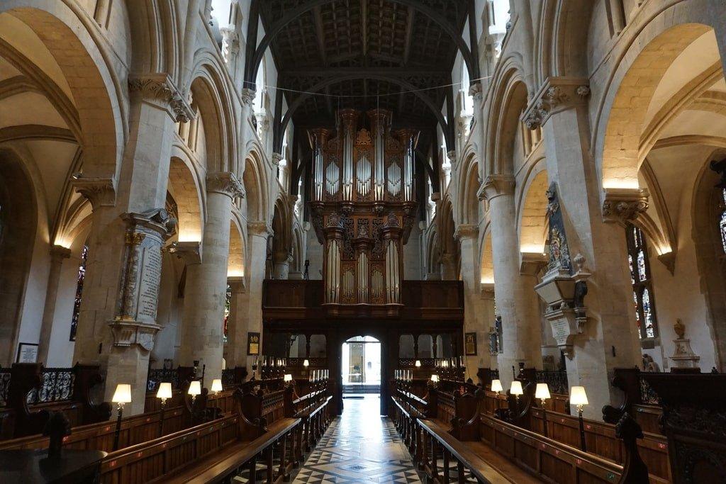 La navata principale della Christ Church.