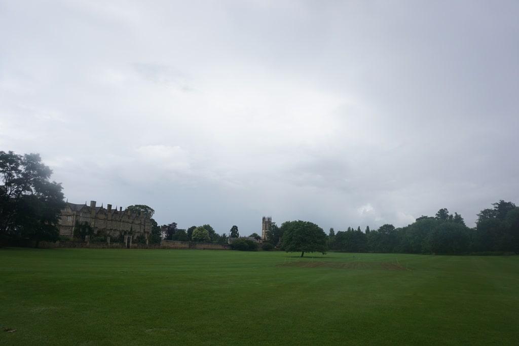 I parchi pubblici del Merton College a Oxford.