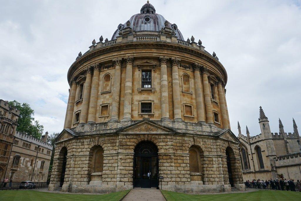 La Radcliffe Camera a Oxford.